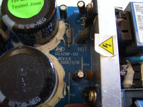 MEGA DL47DM23U POWER SUPPLY BOARD SHL4210F-133