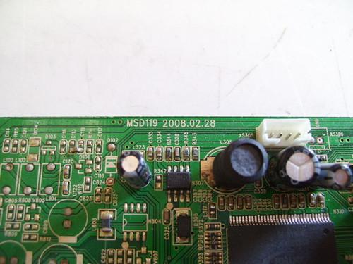 MEGA DL47DM23U MAIN BOARD MSD119 / KS-MSD119CL-US-D-B