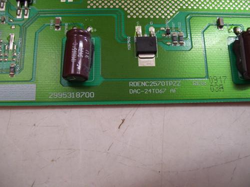 PROSCAN 32LB30Q INVERTER BOARD DAC-24T067AF / RDENC2570TPZZ