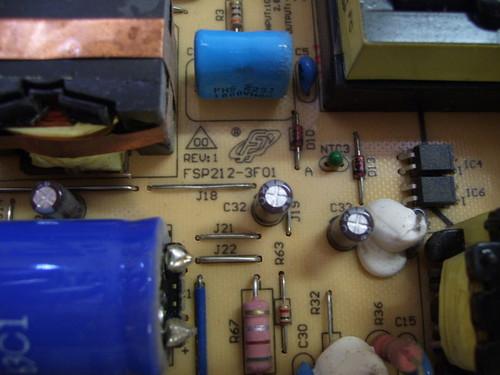 AOC L32W698 POWER SUPPLY BOARD FSP212-3F01 / 9OC2120105
