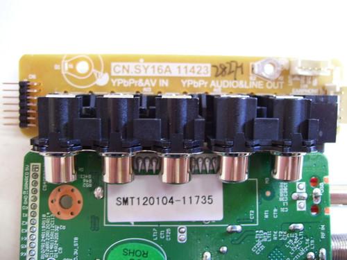 VIORE LC39VF80 MAIN & AV INPUT BOARD SET T.RSC810A 11153 & CN.SY16A 11423 / SMT120104