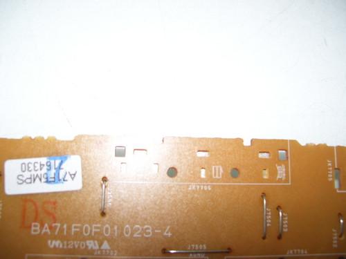 EMERSON AV INPUT BOARD BA71F0F01023-4 / A71F5MPS