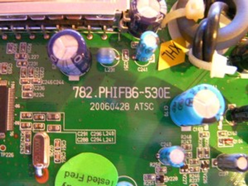 INSIGNIA  NS-42PDP MAIN BOARD 667-PS42FB6-53 / 782.PHIFB6-530E