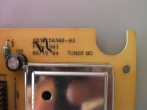 DELL W2600 Tuner board 6832150300-03