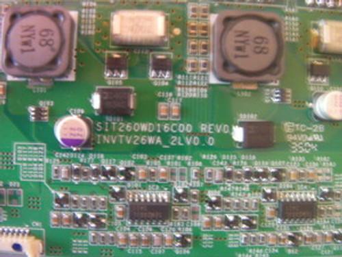 DELL W2600 Inverter board SIT260WD16C00 / INVTV26WA_2LV0.0