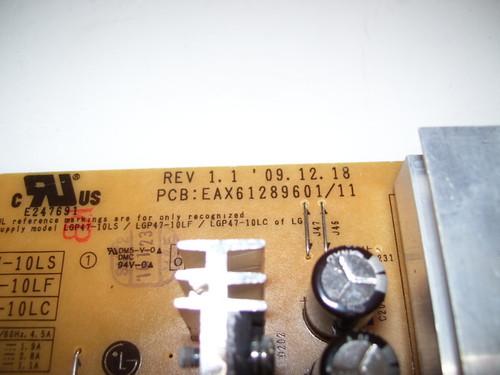LG 46LD550 POWER BOARD EAX61289601 //11