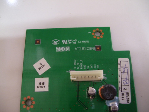 MINTEK DTV-265-D TUNER BOARD AT2620