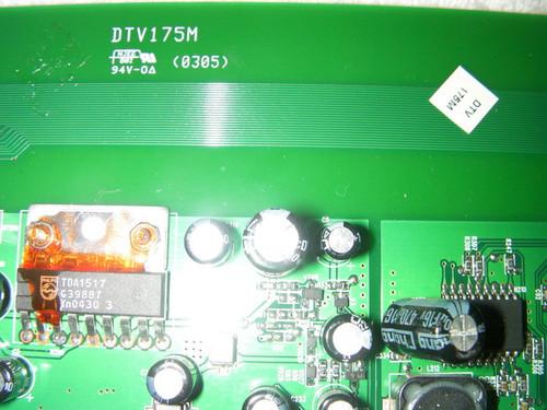 MAGNAVOX 17MD255V/17 MAIN BOARD DTV175M