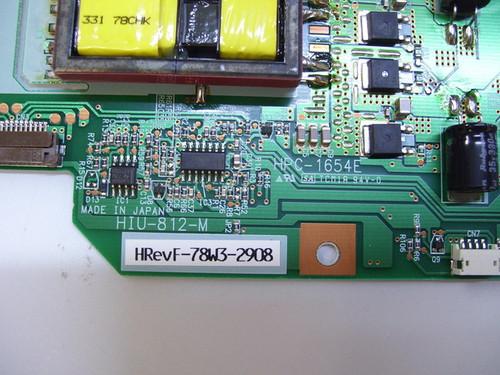 SVA VR3222W MASTER INVERTER BOARD HPC-1654E / HIU-812-M