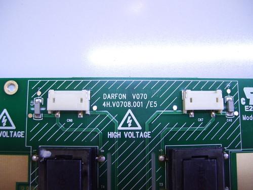 AKAI LCT2662 INVERTER BOARD 4H.V0708.001/E5 / 2714240027
