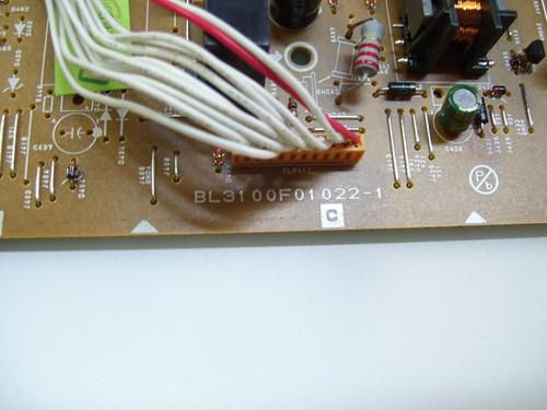 SYLVANIA 6620LF4 MPS BOARD BL3100F01022-1 / L3212MPS