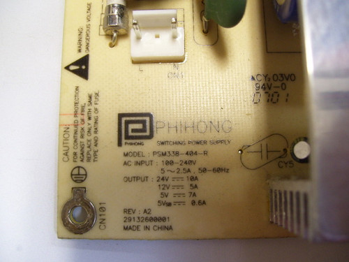 HP CPTOH-0707 POWER SUPPLY BOARD PSM338-404-R / 56.04338.R11