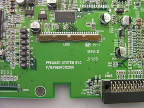 OLEVIA / SYNTAX LT27HV MAIN BOARD P060P3112100 / P061P3112100-S1