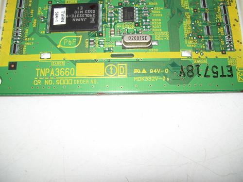 MAXENT MX-42XM11 MAIN LOGIC CTRL BOARD TNPA3660 (NO SUFFIX)
