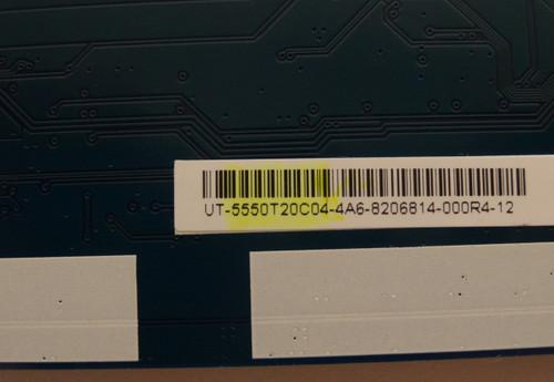 HISENSE 50K22DG  T-CON BOARD 55.50T20.C04 / T500HVN08.3