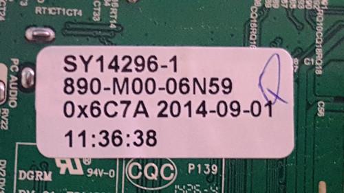 ELEMENT ELEFW606 MAIN BOARD  B14060750 / T.MS3393.81 / SY14296-1