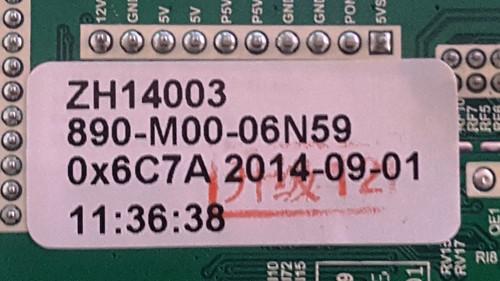 ELEMENT ELEFW605 MAIN BOARD  U14070066 / T.MS3393.81 / ZH14003