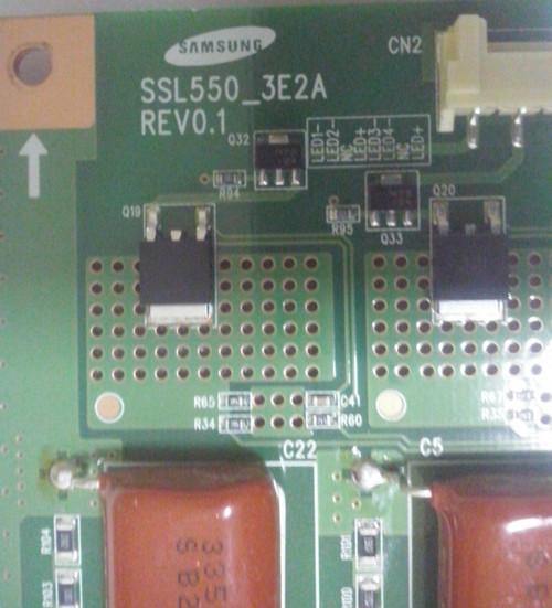 COBY LED3DTV5586 LED DRIVER LJ-97-03544A / SSL550_3E2A (MXLJ-97-03544A)