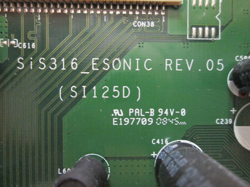 HANNSPREE T280H MAIN BOARD SIS316_ESONIC / 70-T2800100G0A0