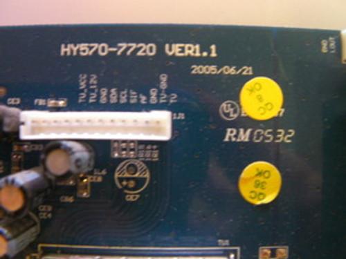 AKAI LCT2701TD TERMINAL BOARD HY570-7720 / HY570-7720