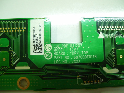 ILO PDP4210EA1 BUFFER BOARD 6871QDH084A / 6870QDE014B