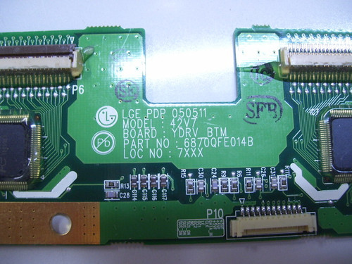 ILO PDP4210EA1 BUFFER BOARD 9871QDH085A / 6870QFE014B