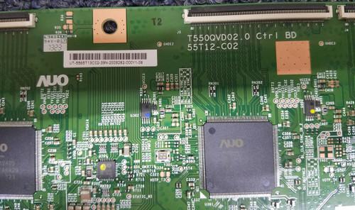 SEIKI SE65UY04 T-CON BOARD 55.65T13.C02 / T550QCVD02.0