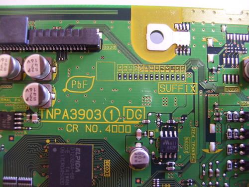 PANASONIC TH-50PX600 DIGITAL BOARD TNPA3903 / TNPA3903