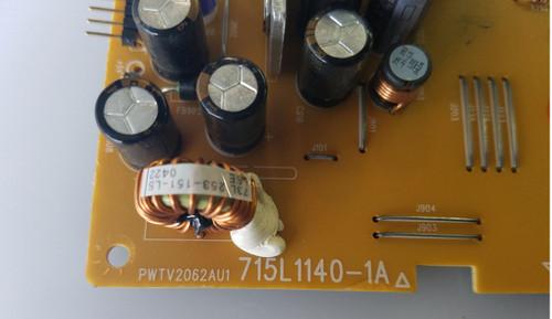 NORCENT, LT2021, POWER SUPPLY, PWTV2062AU1, 715T1140-1A