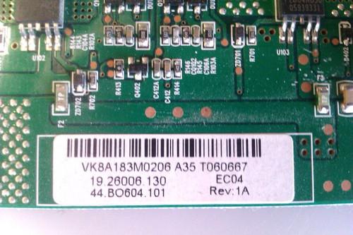 "TV LCD 37"", SABRE ,LCT371BKA, INVERTER BOARD, 4H.V1833.411/B1 ,19.26006.130"
