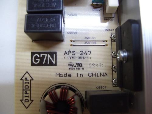 SONY , KDL-52Z5100, POWER SUPLY (G7N BOARD), 148734111, 1-487-341-11, 1-879-354-11, APS-247