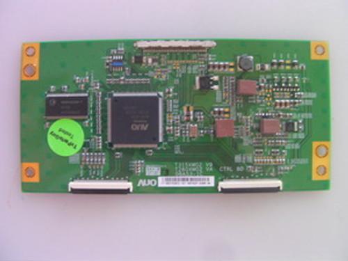 """TV LCD 32"""", MEMOREX ,MLT3221, T-CON BOARD, 55.31T03.072 ,T315XW02 V9, T260XW02 VA, 06A53- 1C"""