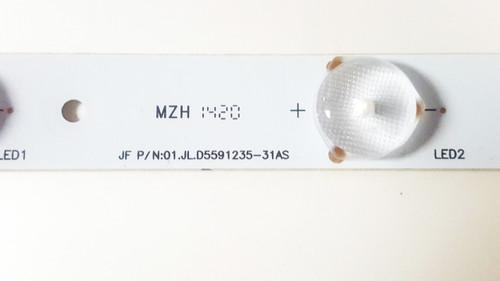 RCA LED55G55R120Q JF P//N:01.JL.D5591235-31BS-P Substitute 01.JLD5591235-31AS Back LED Light ONE PC ONLY