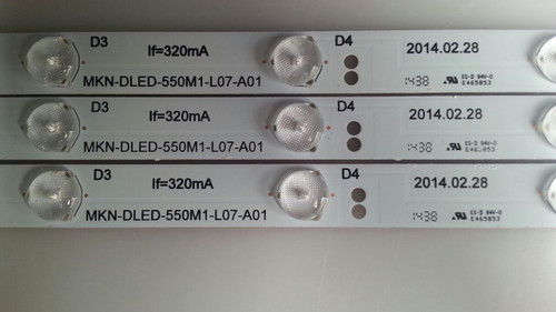 PROSCAN, PLED5529A, LED STRIPS, MKN-DLED-550M1-L07-A01