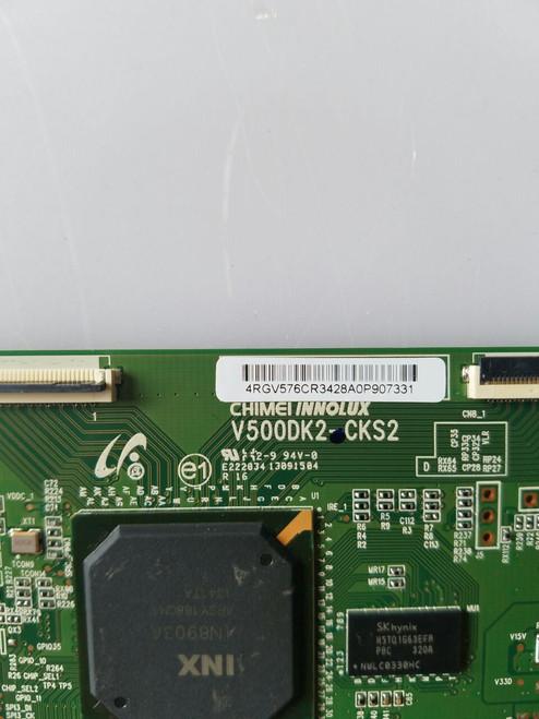 "TV LED 42 "", CHANGHONG, UD42YC5500UA, T-CON BOARD, 4R.GV576.CR3, V500DK2-CKS2"