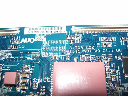 SAMSUNG LN32A550P3FXZA T-CON BOARD 55.31T05.C03 / T315HW01 V0