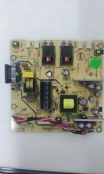 """TV LCD 23"""" ,HP, W2338H, POWER SUPPLY/INVERTER, ADTV8E42SQWP, 715G2824-1-7"""