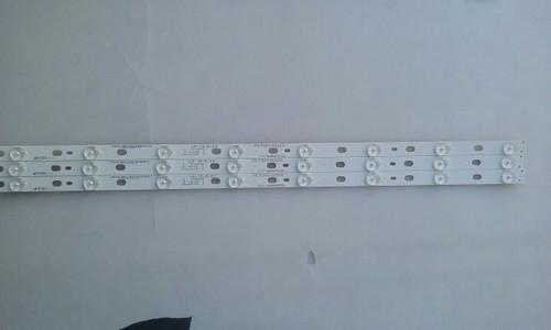 """TV LED 60"""" ,PANASONIC, TX-60AS650B, LED STRIPS, 75.P2K03G003 LEFT, IC-C-HWBR60D322L"""