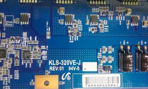 """TV LCD 32"""" ,DELL, W3202MH, INVERTER BOARD, KLS-320VE-J, KLS-320VE-J"""