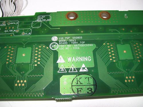LG 50PX1D-UC BUFFER BOARD 6871QDH088A / 6870QDC004A