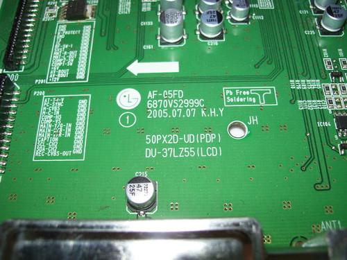 ZENITH Z50PX2D SINGAL BOARD 68719SM145A / 6870VS2999C