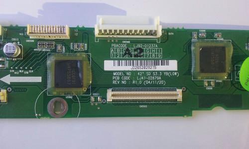 AKAI PDP4298ED1 BUFFER BOARD LJ92-01237A / LJ41-02879A