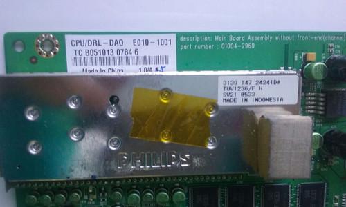 """TV LCD 32"""" ,DELL, W3202MH, MAIN BOARD, 01004-2960, 01004-2960/E010-1001"""
