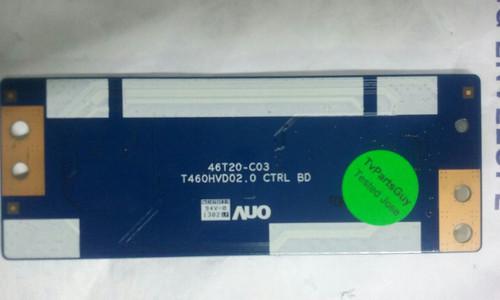 HISENSE 46K360M T-CON BOARD 55.46T20.C02 / T460HVD02.0/46T20-C03