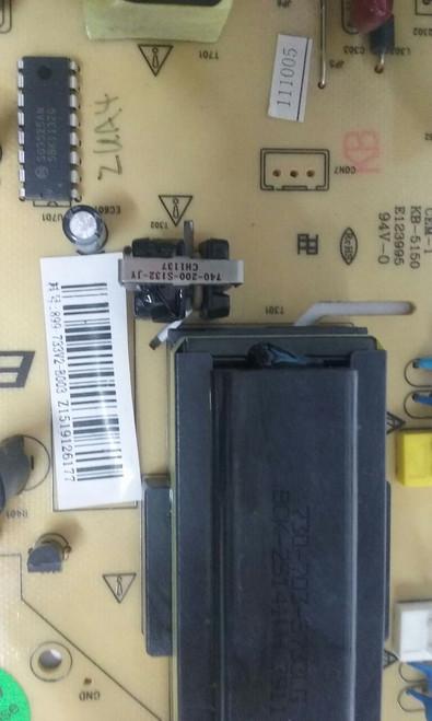 "TV LCD 32"" ,COBY, TFTV3227, POWER SUPPLY, 899-733V2-B003, KB-5150/IPB733"