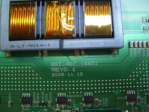 """TV LCD 40"""" ,ELEMENT, 40LE45Q, INVERTER BOARD, LJ97-02098A, SSI_400_14A01"""