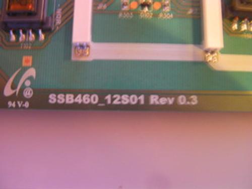 "TV LCD 46"" ,SONY, KDL-46EX400, INVERTER BOARD, LJ97-02538A, SSB460_12S01"