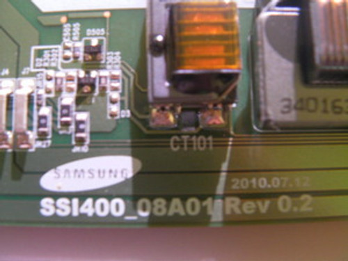 """TV LCD 40"""", Dynex ,DX-40L261A12, INVERTER BOARD, LJ97-03241A ,SSI400_08A01"""