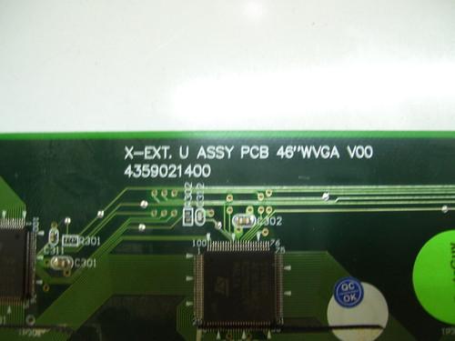"""TV PLASMA 46"""", GATEWAY ,GTW-P46M103, BUFFER BOARD, 4359021400 ,2714032-02R2-3"""