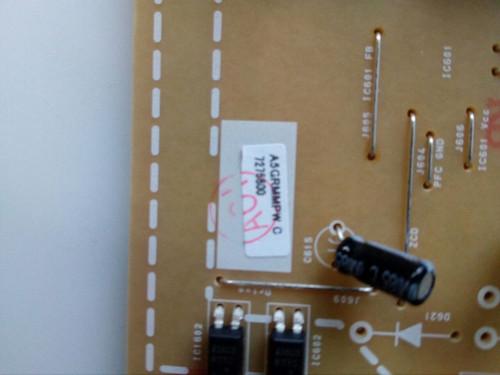 """TV LED 55 """", SANYO, FW55D25F, POWER SUPPLY, A5GRMMPW, BA5GRJF01022"""